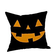 Halloween Pillow Cases  Linen Sofa Pumpkin ghosts Cushion Cover Home Decor