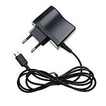 EU Plug Home Travel Wall Charger Power Adapter for Nintendo DS Lite NDSL-Black