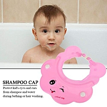 Adjustable Baby Kids Children Hair Wash Shower Shampoo Hat Cap Eye Ear Protection