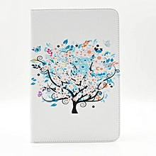 Leather Tree Case Cover Stand For Samsung Galaxy Tab A 8.0 T350 Tablet