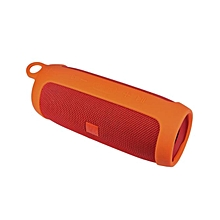 Silicone Wireless Bluetooth Speaker Cover Case Bag Protect For JBL Charge3 -Orange