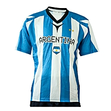 Jersey Football Argentina- Fwc401white/Sky- L