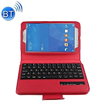 For Samsung Galaxy Tab 4 7.0 / T230 Separable Litchi Texture Horizontal Flip Leather Case + Bluetooth Keyboard With Holder & Selfie Function(Red)