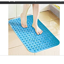 Anti-Slip Bathroom Mat - 70x35 -  Translucent blue