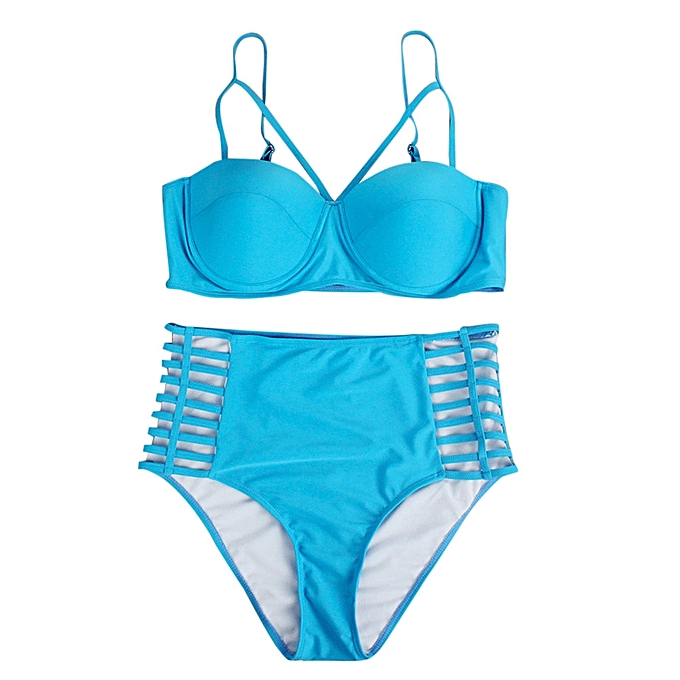 b64f916798436 ... Plus Size Women Push-Up Padded Bra Beach Bikini Set Swimsuit Sexy  Swimwear ...