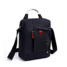 Business Casual Style Men's Backpack Laptop Bag -Black