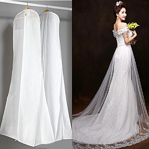7203c9f937b8 Large Wedding Dress Bridal Gown Garment Dustproof Breathable Cover Storage  Bag