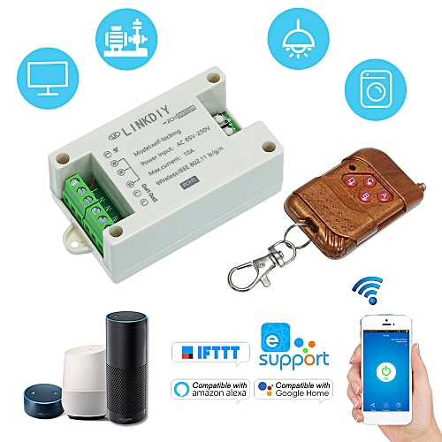 Sonoff 433Mhz Smart Wifi Switch Universal Wireless Remote Control Switch  Module 2CH AC85-250V Timer Phone APP Remote Control Compatible with