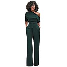 034889e162b85 Women  039  Jumpsuits Off The Shoulder Elegant Jumpsuits Women Plus Size  Rompers Jumpsuits Short