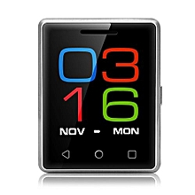 S8 1.54 Inch Smartphone MTK6261D Heart Rate Measurement Pedometer Remote Camera_SILVER