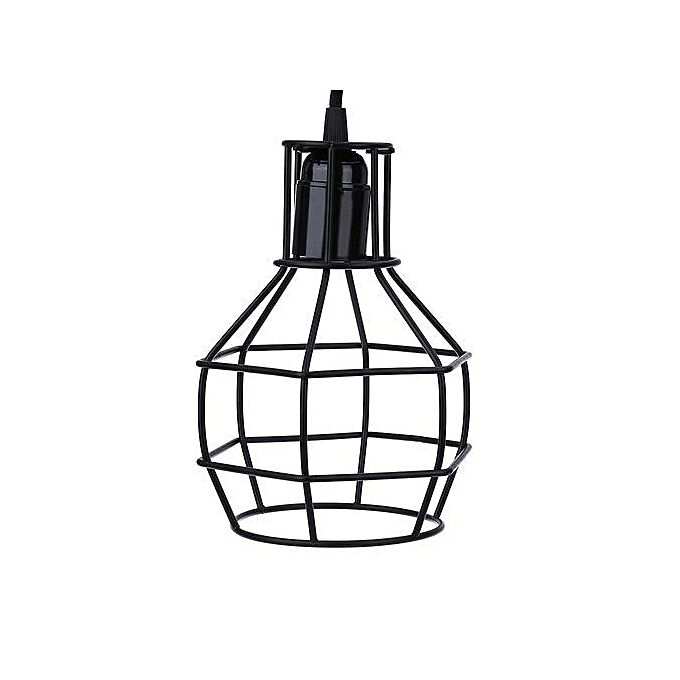 Pendant Cage Hanging Wire Lamp Guard GRENADE SHAPE