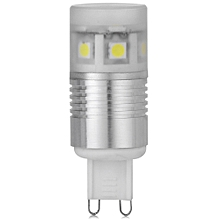 G9 11 x SMD-5050 360 Degrees LED Corn Light with Frosted Cover - 220LM 3W 200-240V - Silver