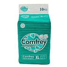 Comfrey Adult Diapers, XL, 6 Pack