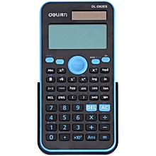 D82ES Calculator Double Screen LED Solar Powered Student Stationery Tool - Colormix