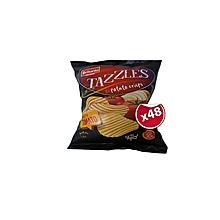 Tazzles Tasty Tomato Crisps 48 Packets x 30g