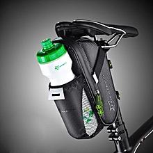 RockBros Cycling Bicycle Saddle Bag Pannier Bike Bag Tail Storage Bottle Holder