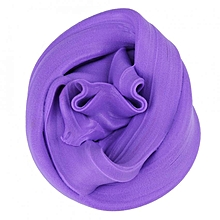 DIY Fluffy Slime Stress Relief Plasticine Anxiety Reducer Mud Clay Toy For Child Adults(Purple)