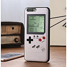 Handheld Mini Tetris Console Built-in 8 Classic Games Case Cover For iphone X