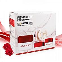 Revitalift Program Travel Collection, Day Cream 50ml + Eye Cream 15ml + Night Cream 50ml
