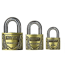 Best Quality Top Security Padlock  - Goldish Brown