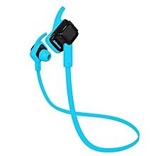 Bluetooth headphone, BEATING Wireless Bluetooth 4.1 Sports Earphone IPX4 Waterproof Sport Running Sweatproof Headset with Microphone(Blue)
