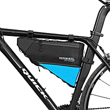 121371 Water-resistant 4L Bike Triangular Bag Bicycle Front Tube Pack
