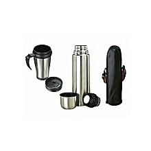 Vaccum Flask, Travel Mug & Bag
