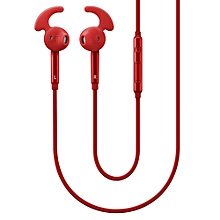 Earphone Earpiece + Mic Volume Control For SAMSUNG Galaxy s3 s4 s5 s6 s7 s8 s9 edge plus note 2 3 4 5 8 9 Red