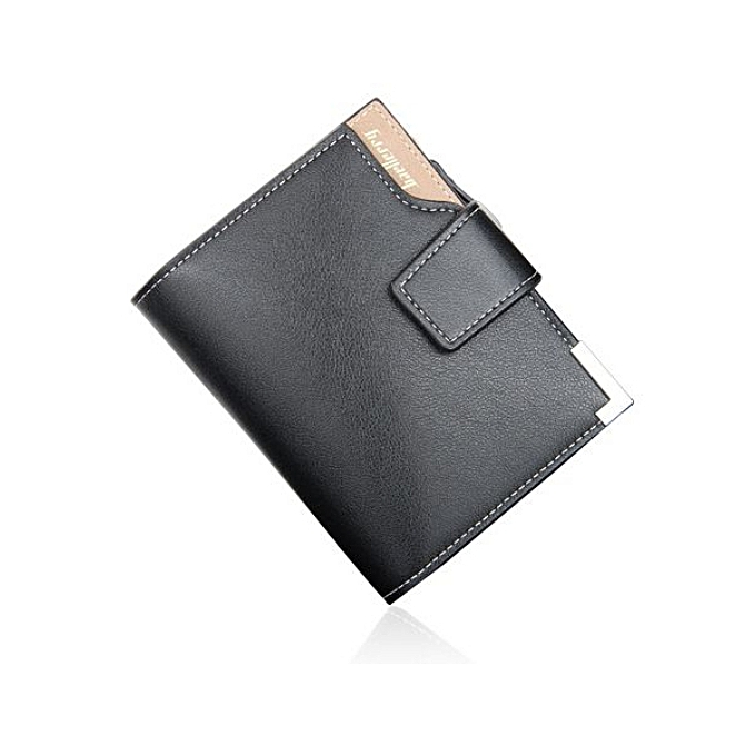 Image result for Baellerry Executive Classy & Posh Men Leather Wallet - Black