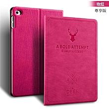 For iPad Mini 4 Cover Wake/Sleep Smart Shell Deer Design Folio Stand Protective Case For Apple Ipad Mini 4 CHD-Z