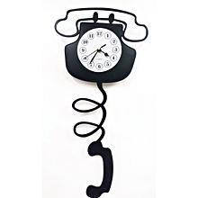 Wall Clock old phone ringer clock design
