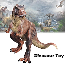24CM Vivid Large Tyrannosaurus Rex Dinosaur Toy Model Birthday Gift For Boy Kids