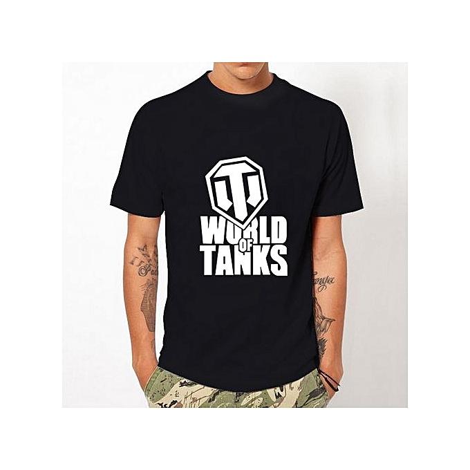 59261626a 2017 Summer Style Funny World Of Tanks T Shirt Men Manufacture World War Ii  Tank Tshirt