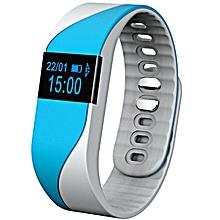 M2S - Smart Watch Bracelet Heart Rate Monitor Pedometer - Blue