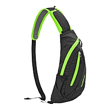Men Women Casual Cycling Chest Bag Nylon Outdoor Sport Crossbody Bag
