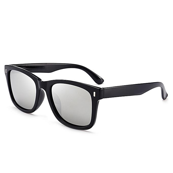 40935f4fafc Generic New style Men s fashion wild classic retro new driving mirror  polarizer   sunglasses   sunglasses-sliver gray