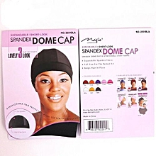 2pcs Black Dome Cap - Wig Making Cap