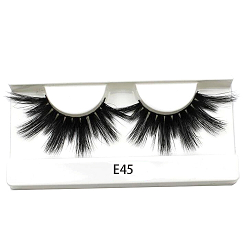 a2785d864a7 Generic 25mm Long 3D mink lashes extra length mink eyelashes Big dramatic  25mm Mink Lashes 100% Cruelty free Handmade fake lashes(E45)