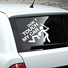 Don't Touch My Car Sticker Vinyl Decal Bumper Window Decor Removable Paster