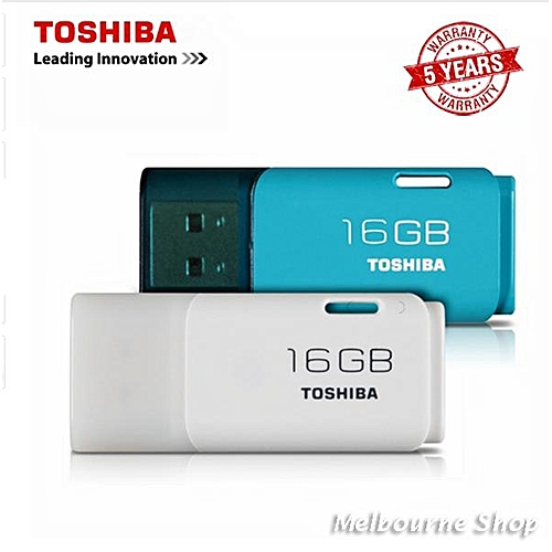 Toshiba Toshiba 16GB USB 2.0 TransMemory Hayabusa Flash Drive (White) (White) LJMALL