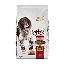 Premium Adult Dog Food Beef High Energy - 3kg