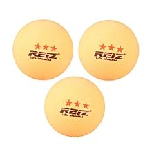 REIZ RZ1813 Good Bounce 3PCS/SET 40MM 3-Star Table Tennis Balls For Match