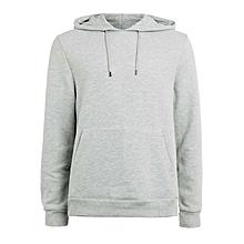 Plain Light Grey Hoodie