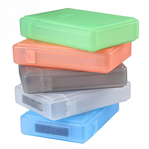 3 5 Inch IDE SATA HDD caddy Case external Hard Drive Disk Storage Box For  Hdd enclosure Cases Multi Color