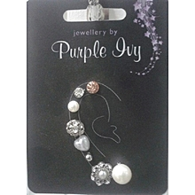 8 pack Dainty stud earring set Different Sizes and designs