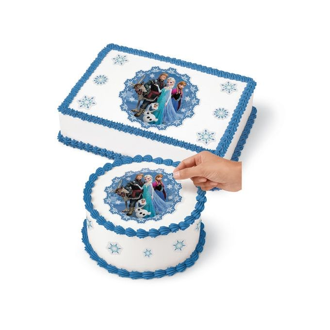 Wilton Disney Frozen Edible Images Cake Decoration Kit - 4 ...