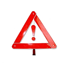 Car Auto Reflective Emergency Warning Tripod Roadway Safety Triangle Sign
