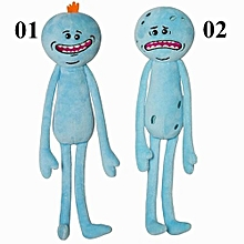 Rick And Morty Happy Sad Stuffed Doll Plush Toys For Kids Boys Girls Gifts -Blue