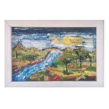 landscape abstract wall art
