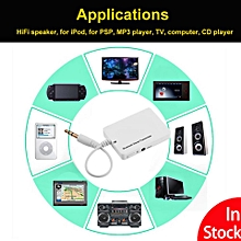 Bluetooth Transmitter TX 3.5mm Stereo HiFi A2DP Wireless Audio Adapter for TV Home Sound System